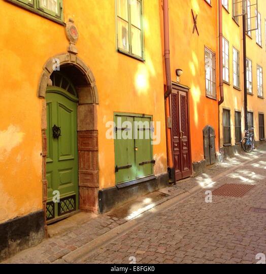 Sweden, Stockholm street - Stock Image