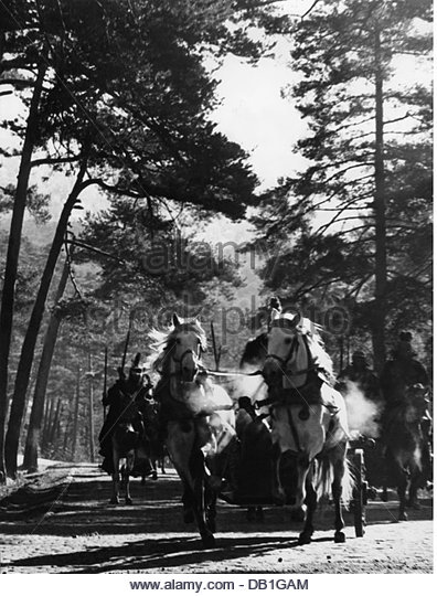 movie, shooting, chariot during of the making of the movie 'The Fall of the Roman Empire' by Anthony Mann, - Stock Image