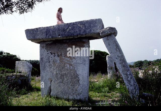 Hippy in Talati de d'Alt. - Stock Image