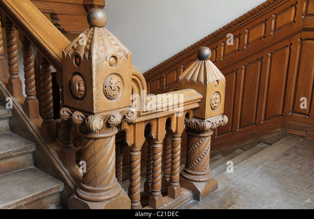 Wooden Stairs Carved Stock Photos Amp Wooden Stairs Carved