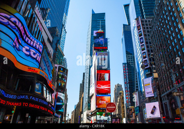 Times Square, New York City, USA - Stock Image