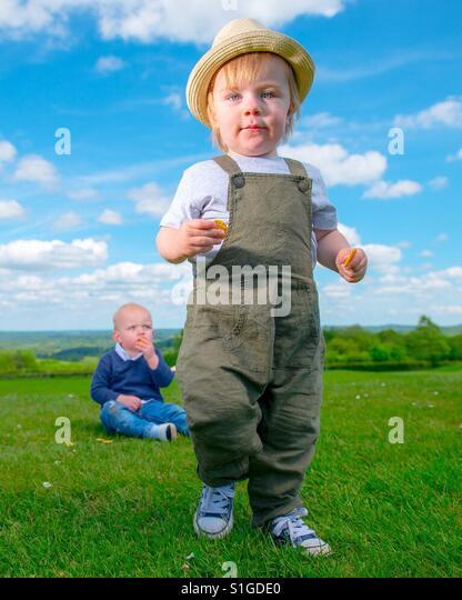 Summertime Boys - Stock-Bilder
