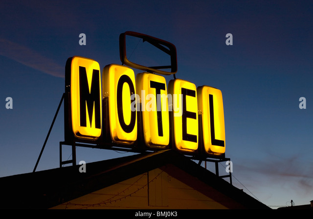 Motel Sign Stock Photos Amp Motel Sign Stock Images Alamy