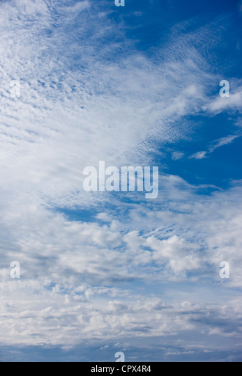sky, Devon, England, UK - Stock Image