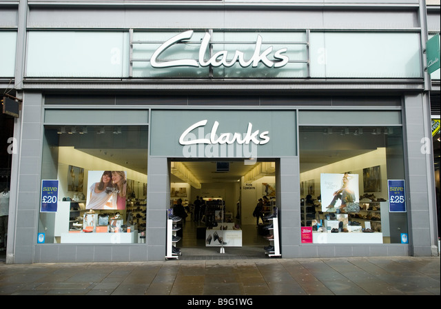 Clarks Shoe Store In New York City