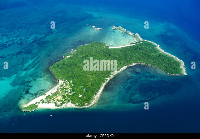 Quipaco island in the Quirimbas archipelago off the coast of Mozambique. - Stock Image