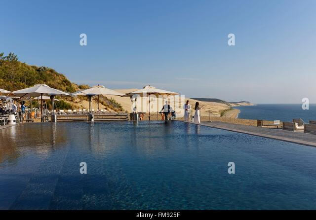 Pyla sur mer france stock photos pyla sur mer france stock images a - Hotel pyla la corniche ...