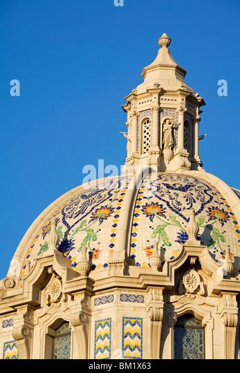 St. Vincent de Paul Catholic church, Figueroa Street, Los Angeles, California, United States of America, North America - Stock-Bilder