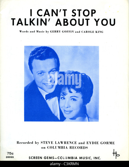 STEVE LAWRENCE and wife Eydie Gorme vocal duo - Stock-Bilder