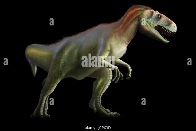 Megalosaurus is genus extinct meat-eating dinosaurs,theropods,from Middle Jurassic period in Earthâ??s history,166 - Stock-Bilder