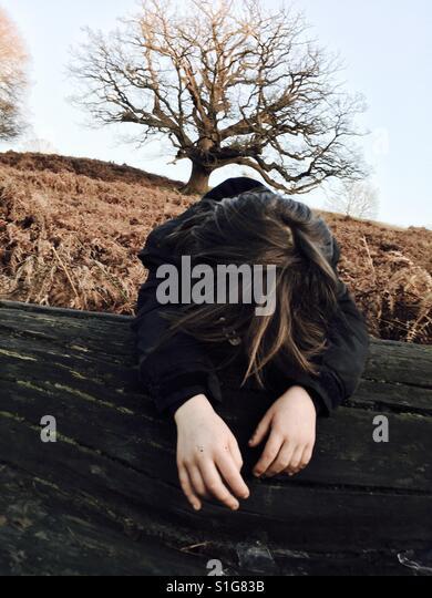 Alone in the wilderness - Stock-Bilder
