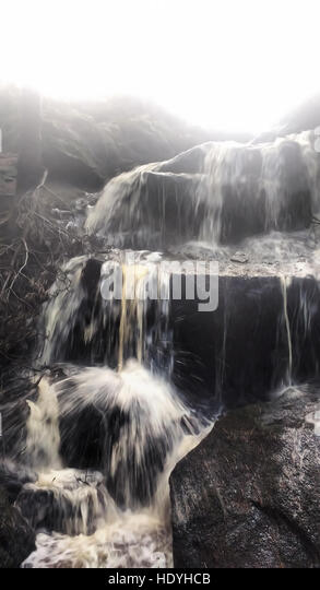 waterfall - Stock Image