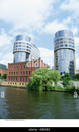 Ministry of Internal Affairs, Berlin, Germany - Stock Image