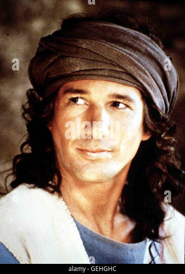 Richard Gere David (Richard Gere) entwickelt sich zu einem stattlichen Mann. *** Local Caption *** 1985, King David, - Stock Image