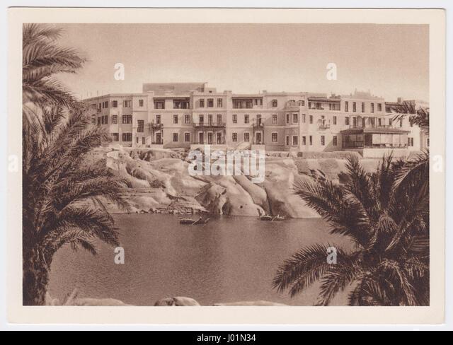Hotel Cataract, Aswan, Egypt - Stock Image
