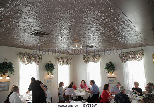 Baltimore Maryland Little Italy ethnic neighborhood business restaurant Sabatino's Italian cuisine dining diner - Stock Image