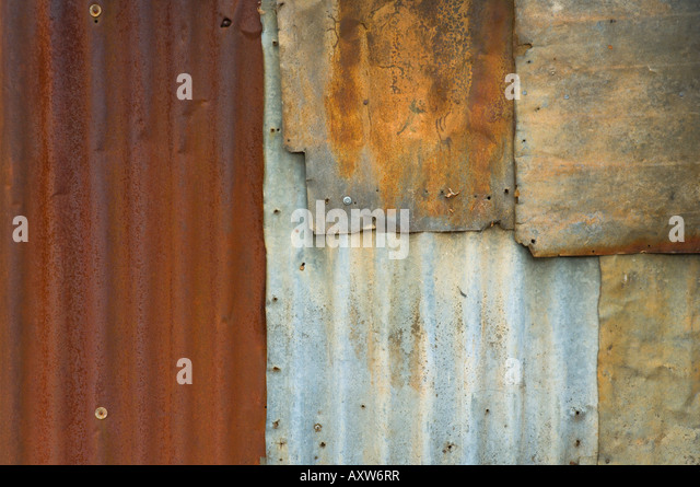 Detail of abandoned hut in historic gold mining town, Hill End, New South Wales, Australia, Pacific - Stock Image