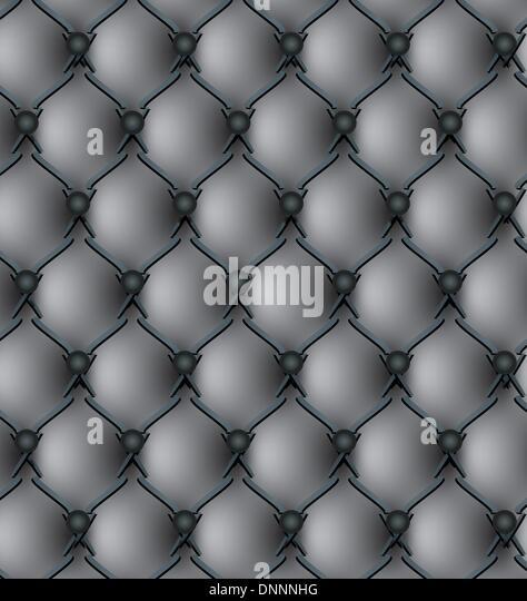 Black genuine leather upholstery pattern vector illustration - Stock-Bilder