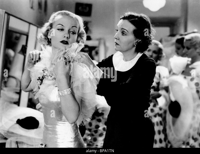 CAROLE LOMBARD THE GAY BRIDE (1934) - Stock Image