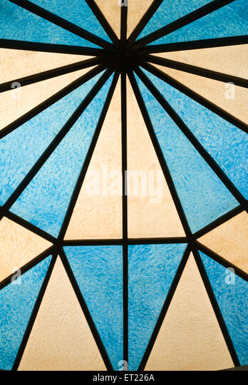 Acrylic ; radius blue 2008 - Stock Image