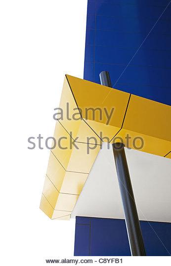 corporate building exteriors - Stock-Bilder