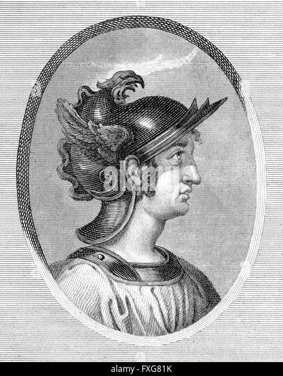 Gaius Caecilius Metellus Caprarius, c. 160 BC, a consul of the Roman Republic, - Stock-Bilder