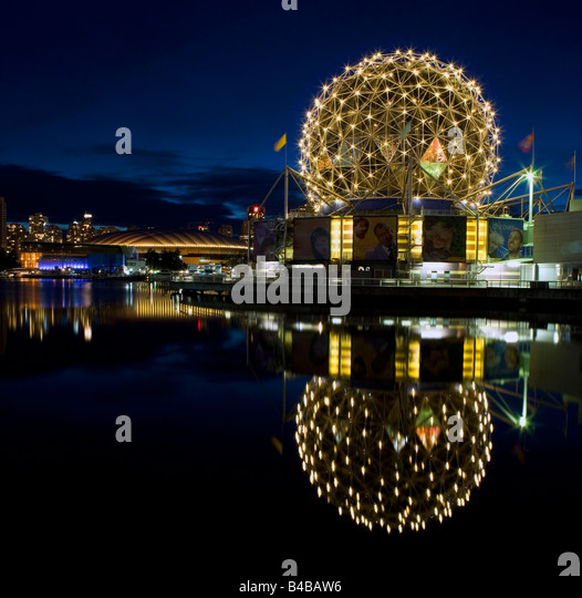 The Vancouver Science Dome and BC Place Stadium British Columbia, Canada. - Stock-Bilder