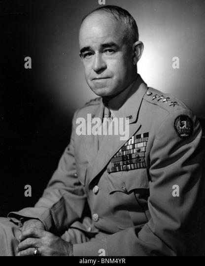 GENERAL OMAR BRADLEY - US army general (1893-1981) - Stock Image