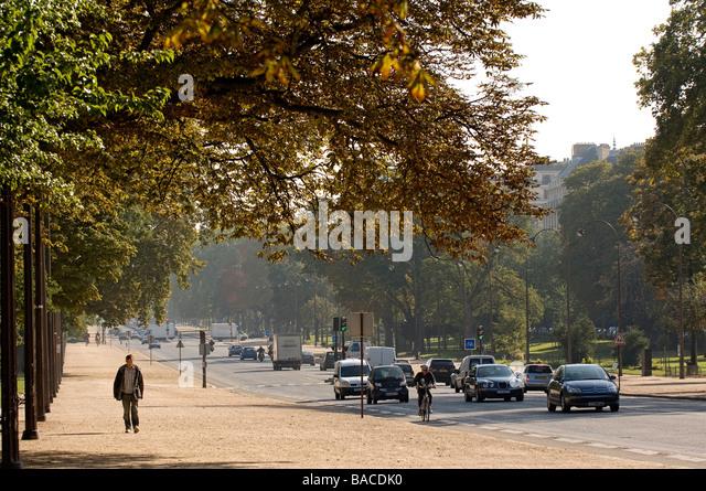 France, Paris, Avenue Foch - Stock Image
