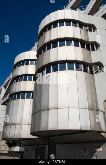 Exterior of ICC International Congress Centrum convention centre in ...