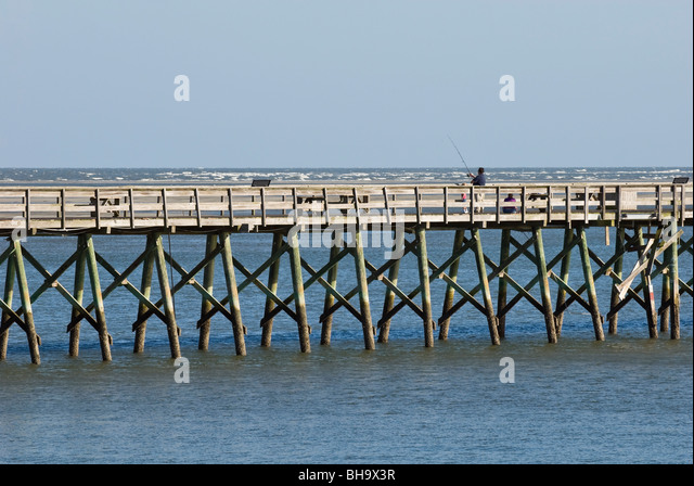 South carolina landscape stock photos south carolina for Hilton head fishing pier