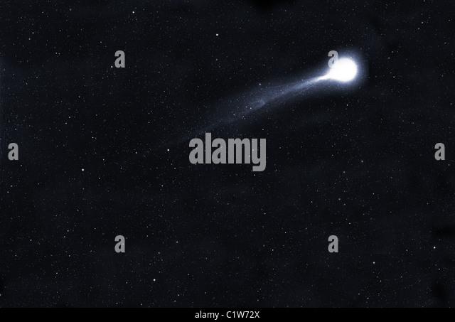 Halley's Comet - Stock Image