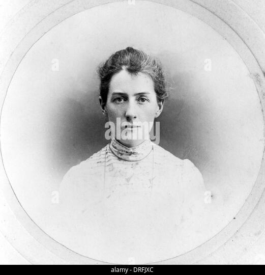 Edith Cavell, English nurse executed by the Germans - Stock Image