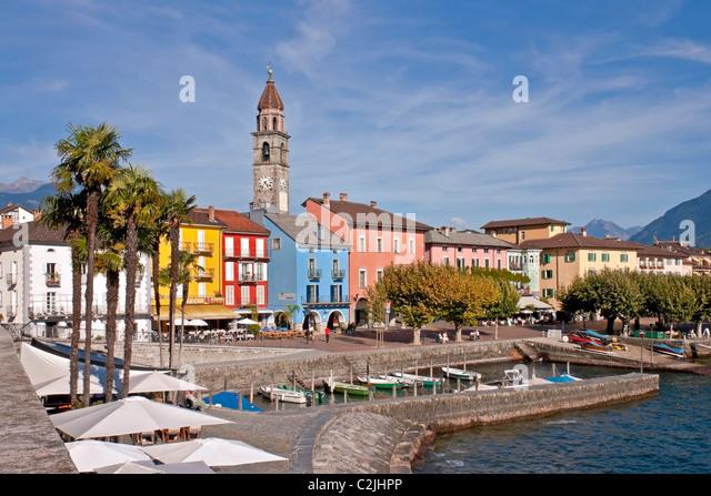 Ascona - Ticino - Switzerland - Stock-Bilder