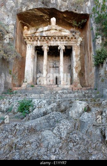 Tomb Of Amyntas Stock Photos & Tomb Of Amyntas Stock ...