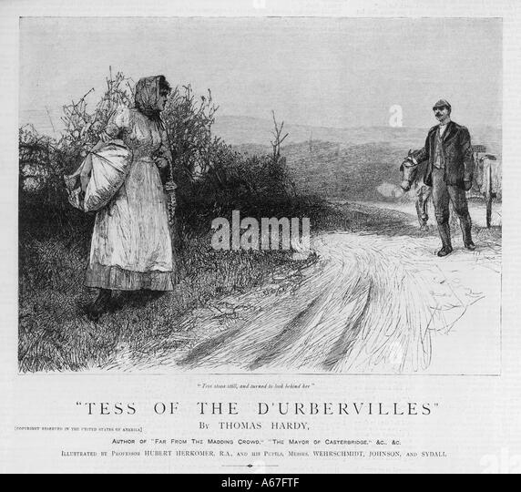 What is the setting of the novel Tess of the d'Ubervilles?