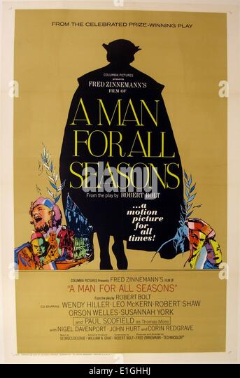 a review of a man for all seasons a play by robert bolt 1 while robert bolt popularized the term 'a man for all seasons' with his 1960  play of  interpretable character, but also lends him for analysis through the new .