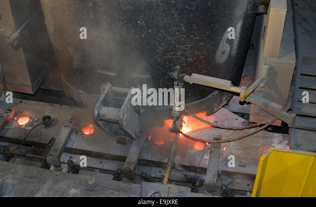 Tundish Mold Continuous Casting : Continuous casting stock photos
