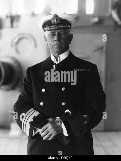 Sir George Callaghan, Admiral of the Fleet - Stock Image
