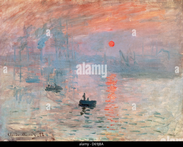 analysis of impression sunrise 1872 monet Choose from thousands of claude monet artworks with the option to print on  impression: sunrise, 1872 claude monet giclee print from $  1872 claude monet.