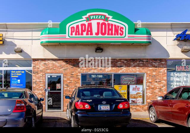 Papa Johns Stock Photos Papa Johns Stock Images Alamy