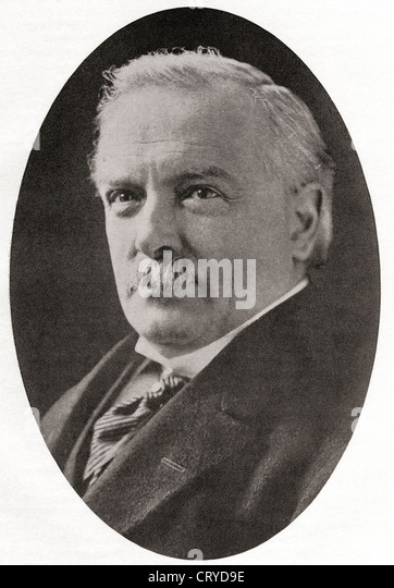 David Lloyd George, 1st Earl Lloyd-George of Dwyfor , 1863 – 1945. - Stock Image