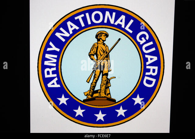 Markenname: 'Army National Guard', Berlin. - Stock Image