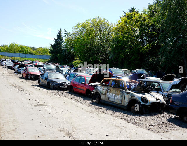 Salvage Yard Stock Photos Amp Salvage Yard Stock Images Alamy