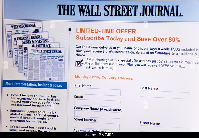 Online dating sites wall street journal