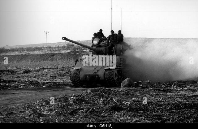 AFP Yom Kippur War 1973 - Stock Image