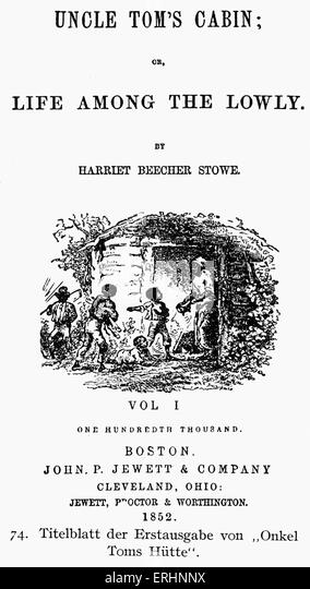 a fight against slavery in uncle toms cabin by harriet beecher stowe Harriet beecher stowe was the author of uncle tom's cabin, an influencing novel about the horrors of slavery, which was published in 1852 it boosted the north's sense of morality against slavery and was a substantial key to the civil war.