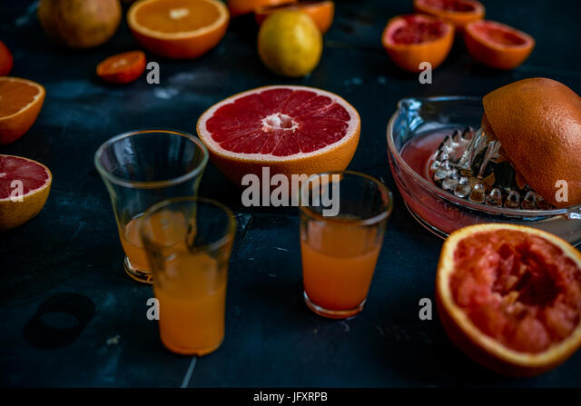 winter citrus - Stock Image