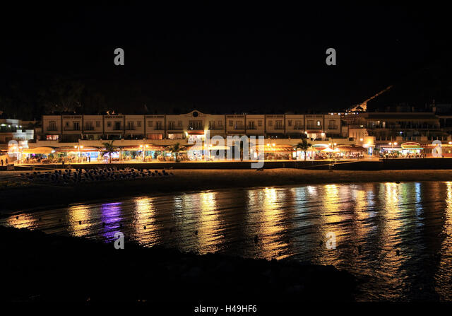 Seafront By Night Stock Photos & Seafront By Night Stock ...