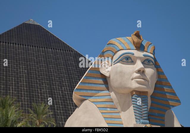 The Luxor Hotel and Casino, Las Vegas - Stock Image